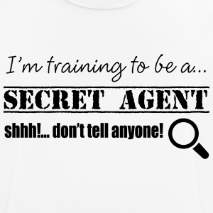 Secret Agent - Men's Breathable T-Shirt
