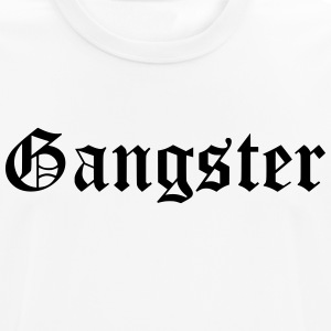 gangster - Pustende T-skjorte for menn