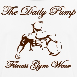 The Daily Pump male model - Men's Breathable T-Shirt