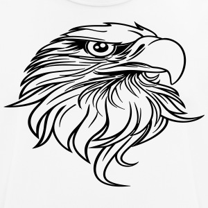 eagle head - Men's Breathable T-Shirt