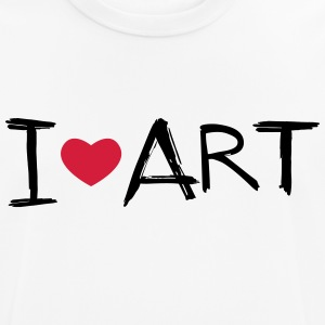 I love Art - Men's Breathable T-Shirt