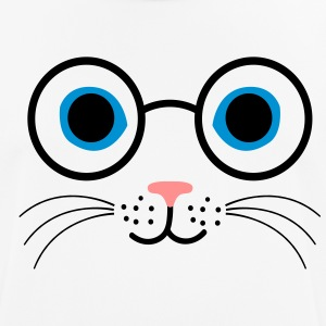 chat lunettes - T-shirt respirant Homme