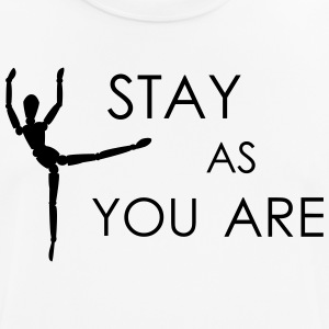 Stay as you are - Men's Breathable T-Shirt