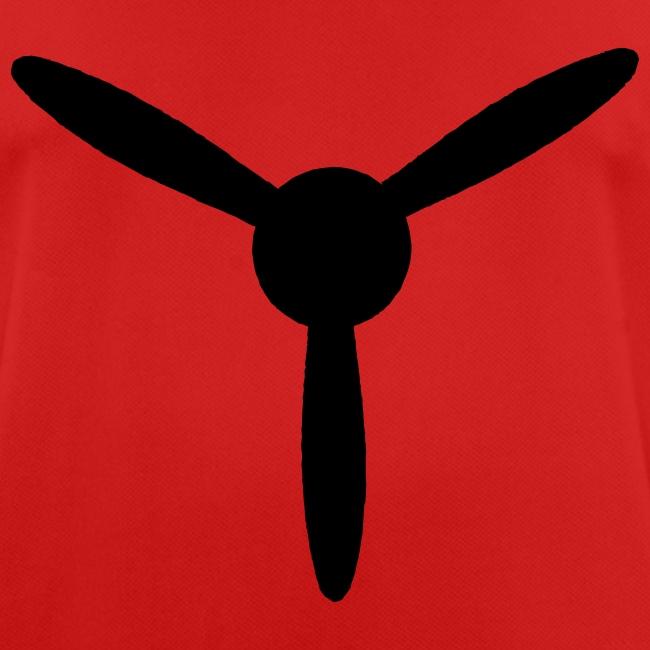 3 blade propeller 1 colour