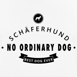 Tysk Shepherd - No Ordinary Dog - Pustende T-skjorte for menn