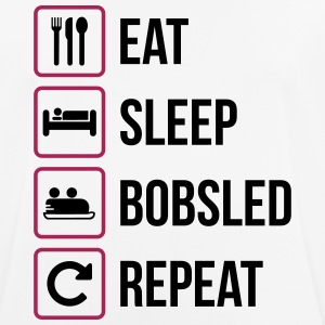 Eat Sleep Bobsled Repeat - Men's Breathable T-Shirt