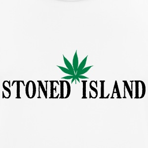 STONED ISLANDE SHIRT WEED - T-shirt respirant Homme