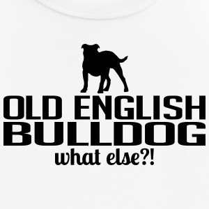 OLD ENGLISH BULLDOG what else - Männer T-Shirt atmungsaktiv