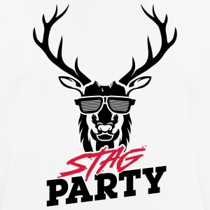 Stag Party - Black Design - Men's Breathable T-Shirt