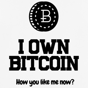 I own Bitcoin! - Men's Breathable T-Shirt