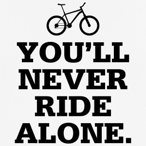 Never Ride Alone - Men's Breathable T-Shirt