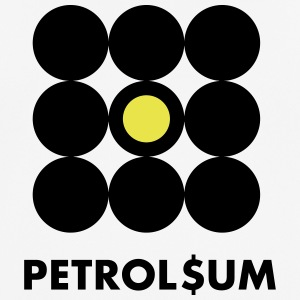 petroleum - Pustende T-skjorte for menn