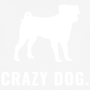 Pug - Crazy Dog - Herre T-shirt svedtransporterende
