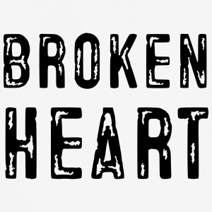 Broken Heart - Pustende T-skjorte for menn