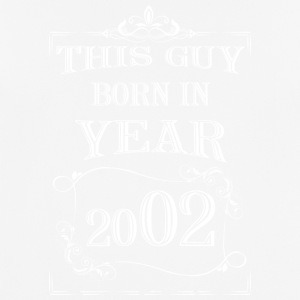 this guy born in year 2002 white - Men's Breathable T-Shirt