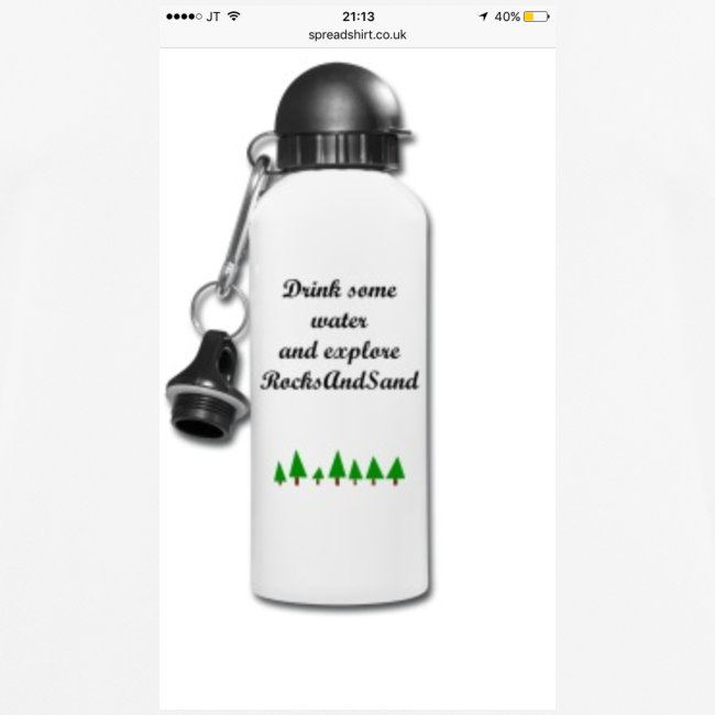 RocksAndSand adventure bottle