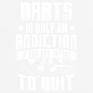 DART DARTS IS ONLY ADDICTION WHEN YOU TRY TO QUIT - Men's Breathable T-Shirt