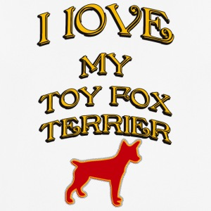 J'AIME MON DOG Toy Fox Terrier - T-shirt respirant Homme