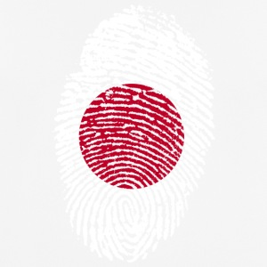 Fingerprint - Japan - mannen T-shirt ademend