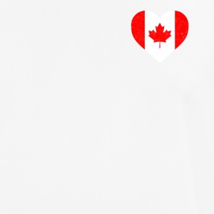 Canada Flag Shirt Heart - canadisk Shirt - Herre T-shirt svedtransporterende