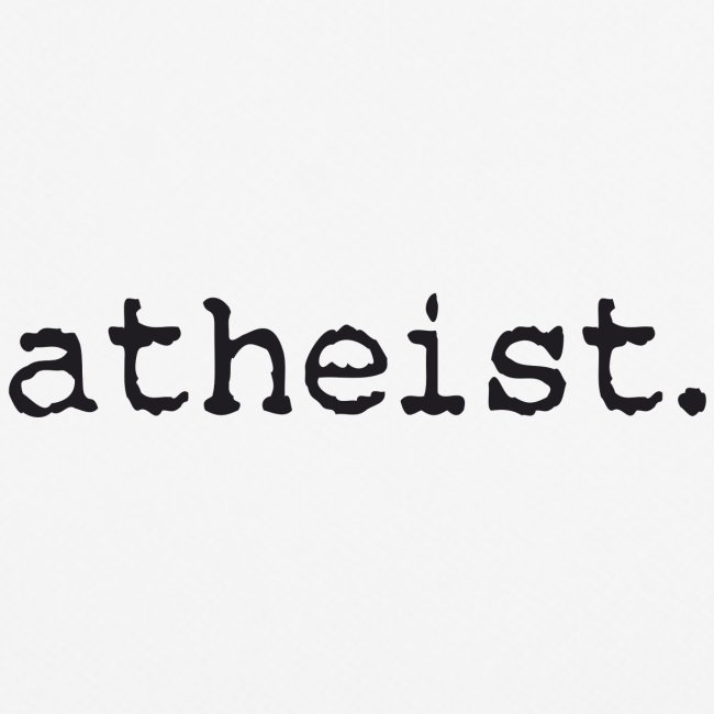atheist BLACK