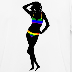 Bikini Girl - Men's Breathable T-Shirt
