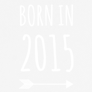 born in 2015 - mannen T-shirt ademend