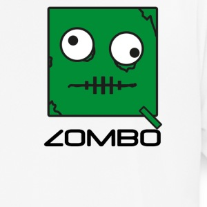 Zombie 'Zombo' Monster | Qbik Design Series - Pustende T-skjorte for menn