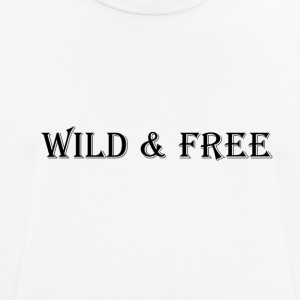 WILD & FREE - Men's Breathable T-Shirt