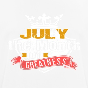 Month of Greatness JULY - Men's Breathable T-Shirt