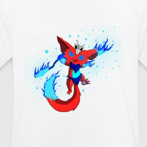 Mysterious fire monster - Men's Breathable T-Shirt