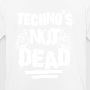Techno is not dead - Männer T-Shirt atmungsaktiv