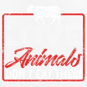 Love Animals Don't Eat Them - Men's Breathable T-Shirt