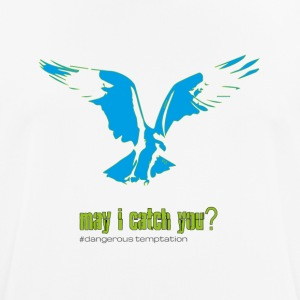 "Eagle ""may i catch you?"" - Men's Breathable T-Shirt"