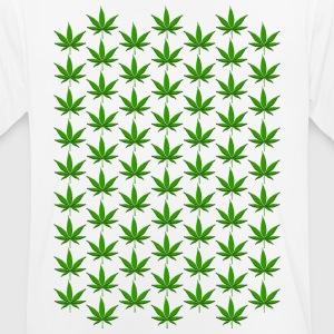 Hemp Leaf Green 006 AllroundDesigns - Men's Breathable T-Shirt