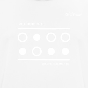 Paradiddle White - Men's Breathable T-Shirt