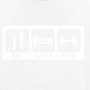 Eat Sleep Gym - Men's Breathable T-Shirt