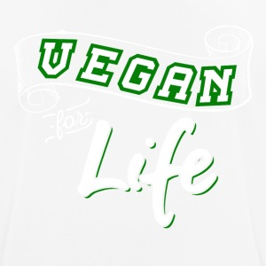 Vegan For Life - Herre T-shirt svedtransporterende