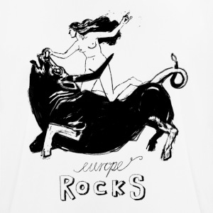 Europe Rocks - Männer T-Shirt atmungsaktiv