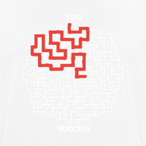 YOUR PATH TO SUCCESS - Men's Breathable T-Shirt