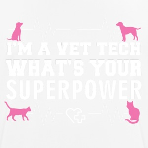 VET TECH SUPER POWER - mannen T-shirt ademend