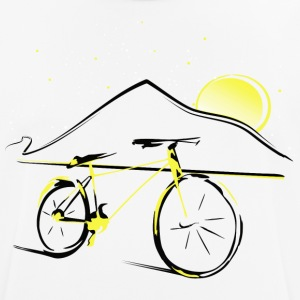 Teide and bike - Men's Breathable T-Shirt