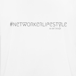 NETWORKER LIFESTYLE - Hustle Mode by Design Office - mannen T-shirt ademend