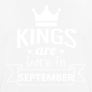 KINGS geboren in september - mannen T-shirt ademend