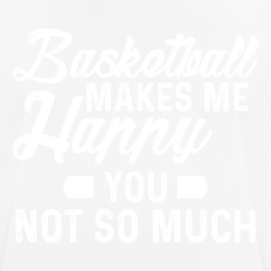 Basketball happy - Men's Breathable T-Shirt