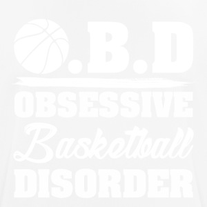 OBD obsessieve stoornis basketbal - mannen T-shirt ademend