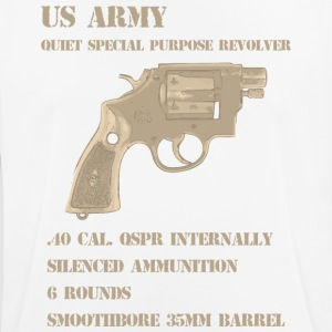 QSPR tunnel rats vietnam era revolver t-shirt - Men's Breathable T-Shirt