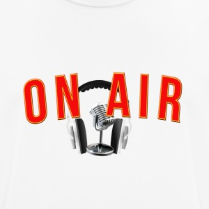 On air radio fm - Men's Breathable T-Shirt