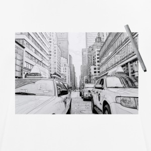 New York City drawing - Men's Breathable T-Shirt
