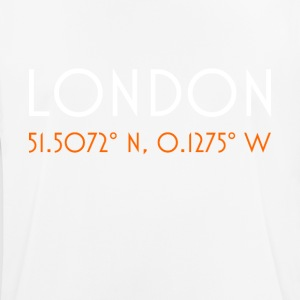 London England minimalist coordinates - Men's Breathable T-Shirt